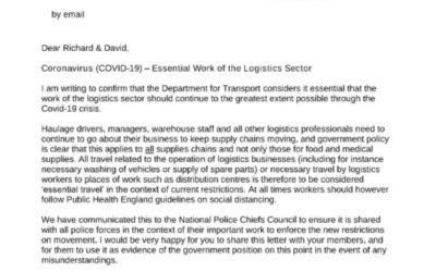 IMPORTANT – DEPARTMENT FOR TRANSPORT
